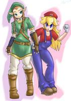 Butch Zelda and the non-slut by T03nemesis