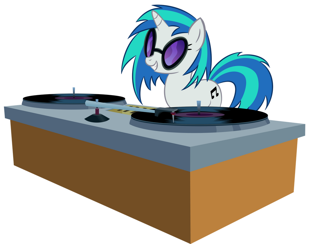DJ PON-3 by shadowdark3