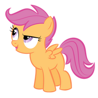 Scootaloo Trace 1 by shadowdark3