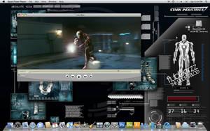 Tony Stark Home Desktop by flubberzz