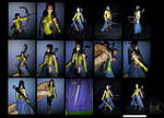 Marvel Legends Custom Moonstar Action Figure by ayelid