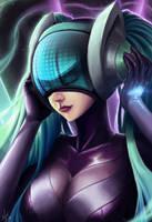 League of Legends - DJ Sona Ultimate Skin by Nel-Sun