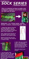 Sock Series: BJD Turtleneck Sweater by Sarablack10