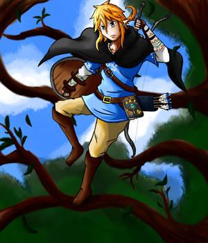 The legend of zelda Breath of the Wild by nevarkun