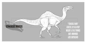Deinocheirus mirificus by BlueCea