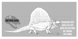 Dimetrodon grandis by BlueCea