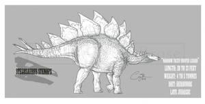 Stegosaurus stenops by BlueCea