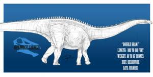 Diplodocus carnegii by BlueCea