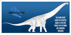 Alamosaurus sanjuanensis by BlueCea