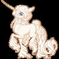 Unicorn OC: Ezra by AlimareEmpire
