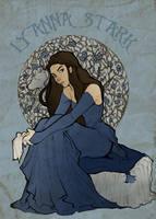 Lyanna Stark by Ratgirlstudios