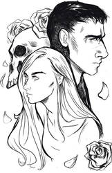 Punisher and Page by Ratgirlstudios
