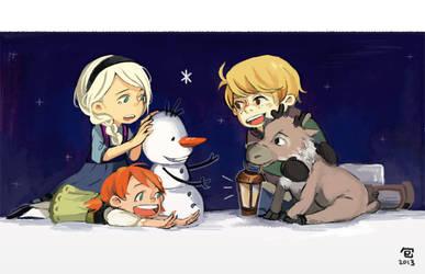 Frozen: Children by ah-bao
