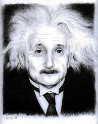 Albert Einstein by canadrine