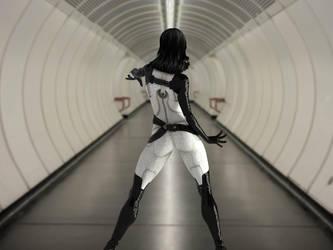Miranda Lawson - Tunnel2 by mechw007