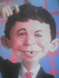 Realistic-Alfred_E_NEUMAN by DumpsterKid