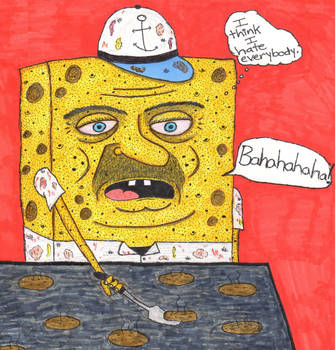 Robert the Sponge guy by DumpsterKid