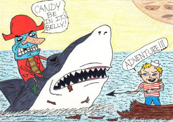Candy Pirates by DumpsterKid