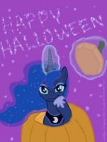 Happy Halloween from Luna by SnowPeak