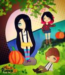 Fanart for Pumpkin Online! by CMYKidd