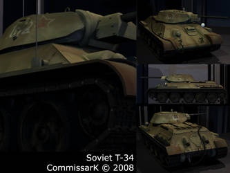 T-34 Number 2 by CommissarKinyaf