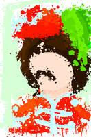 George Harrison portrait by Ana-the-beatlemaniac