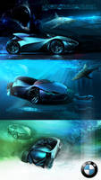 BMW Sketch project by cristianci