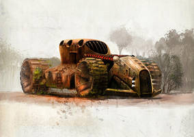 Rusted beast by cristianci