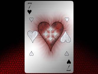 Card Noir: Heart by SheerDark