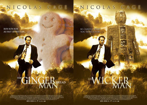 Nicolas Cage in 'The Gingerbread Man' by TheSketchgrapher