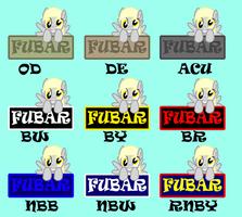 FUBAR Derpy Patches Design by sudro