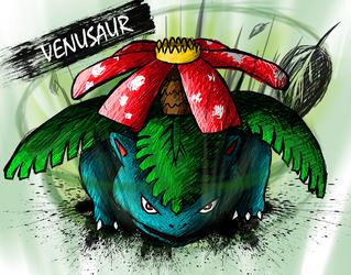 Venusaur by sudro