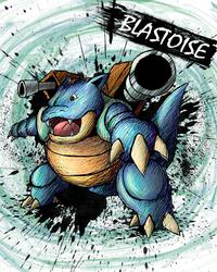 Blastoise by sudro