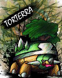 Torterra by sudro