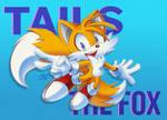 Tails Postcard by JovialNightz