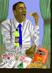 MLG Obama by shaten-svetsom
