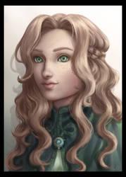 Dakota portrait by MilanaMill
