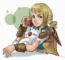 Squish? - FFXII: Penelo by rakieru