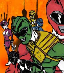 Newest Power Ranger Piece by FreddyK