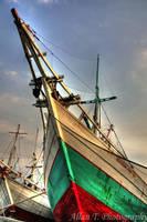 Sunda Kelapa harbour in HDR by FirstMeasure