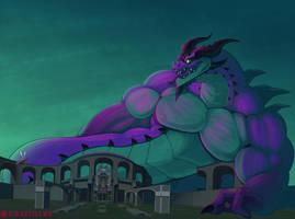 Overpowered Grenn by GigantiLewd