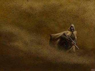 The Rude Sandstorm by nichcruz