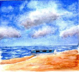 Esercizio paesaggio 3 by Giuko