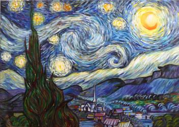 Starry Night by Giuko