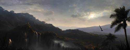 Vesper Falls by Kaioshen