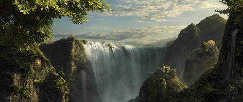 Water Ridge by Kaioshen