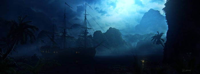Midnight Run to Port by Kaioshen