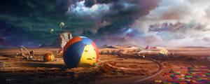 The World is My Playground by Kaioshen