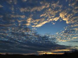 scattered clouds by sunbeamfireking