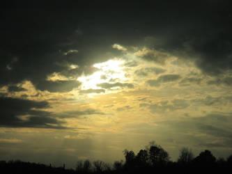 bright clouds by sunbeamfireking